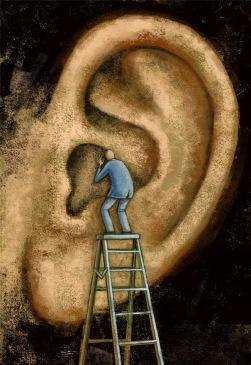 silencio oreja